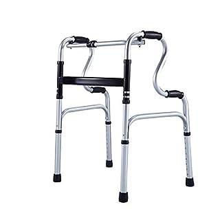Zfggd Elderly Walker Thicken Aluminum Disabled Four-legged Cane Walking Assist Older Walker