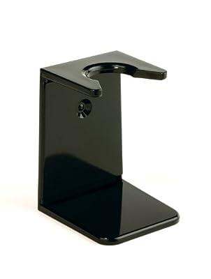 Edwin Jagger Black Small Neck Shaving Brush Drip Stand