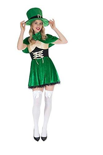 cher Kobold Kostüm Damen Kleid Größe L Karneval 50245 Halloween (Halloween Kobold Kostüme)
