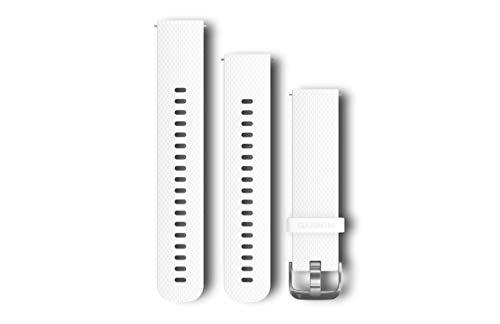 Garmin Silikonarmband Schnellwechsel-Armband, Weiß, M