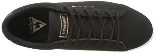 Le Coq Sportif Agate Lo S, Scarpe da Ginnastica Basse Donna Nero (Black)
