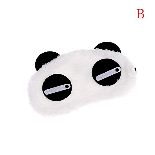 Party Masks - Health Care Face Eye Cotton Panda Mask Sleep Goggles Cover Patch Eyeshade Shading - Headbands Lace Masks Wear Adult Kids White Stick Adults Masquerade Women Superhero Dinosaur Ma (Masquerade Mask Stick)