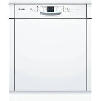 Bosch SMI53M42EU Semi intégré 13places A++ lave-vaisselle - Lave-vaisselles (Semi intégré, Blanc, boutons, LED, 1,75 m, 165 m)