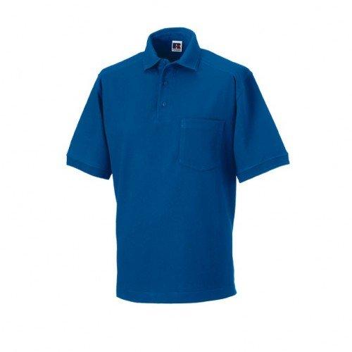 Russell Workwear - Polo 100% Cotone - Uomo Blu scuro