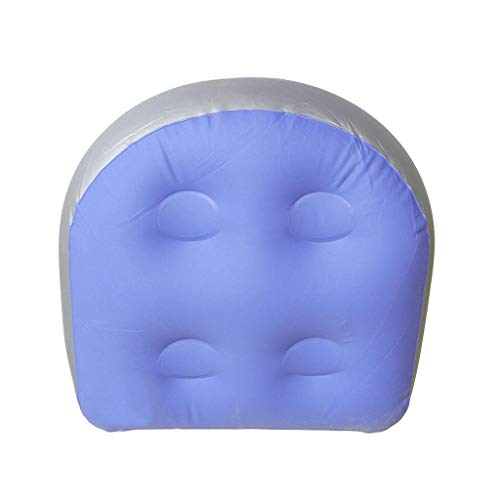 LOLIANNI Wohnkultur Blau Rückenpolster Spa Kissen Massage Matte Weiche Aufblasbare Sitzerhöhung Für Spas - Spa-square-kissen