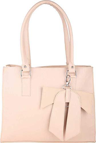 JSPM Women's Adjustable Strap Cream Handbag Image 2