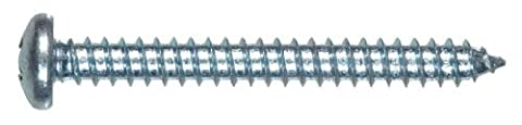 The Hillman Group 80012 6-Inch x 1/2-Inch Pan Head Phillips Sheet Metal Screw, 100-Pack by The Hillman