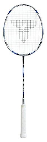 Talbot Torro Badminton-Schläger ISOFORCE 1011.6 Ultraleicht 2016 Silber/Blau/Weiß, M (Griff Weiß Yonex)