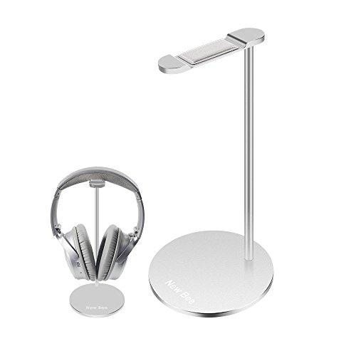 Gaming Headset, supporto cuffie senza fili, bluetooth auricolare gancio, in lega di alluminio, 25cm di altezza per tutte le taglie Silver