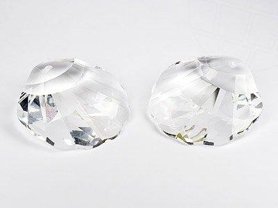 Swarovski Anhänger Elements Muschel 28.0mm (Crystal), 6 Stück