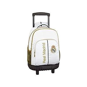 31xKBYSECbL. SS300  - Real Madrid CF niños Equipaje, Blanco, XL