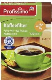 Profissimo Kaffeefilter Gr. 4, 120 St