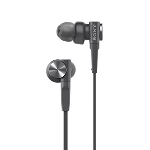 Sony MDR-XB55 Extra-Bass In-Ear Headphones (Black)