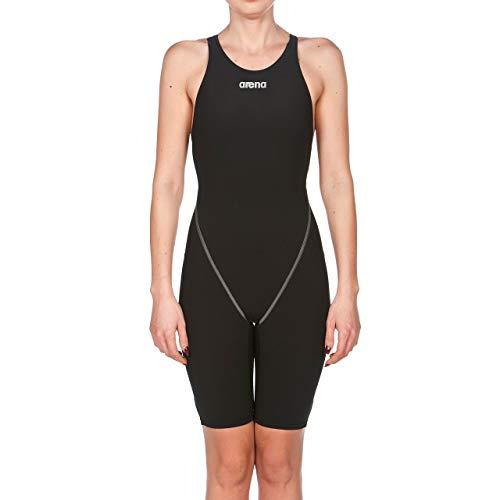 arena Damen Badeanzug Wettkampfanzug Powerskin ST 2.0 (Perfekte Kompression, Minimierter Wasserwiderstand), Black (50), 36