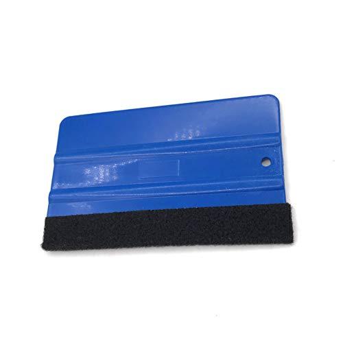 Schimer 3M Rakel mit Filzkante, Folienrakel/Filzrakel aus Kunststoff als Werkzeug für Folierung von: Autofolie, Möbelfolie, Fensterfolie, Tönungsfolie, Wantatto´s,Plotter- &Klebefolie