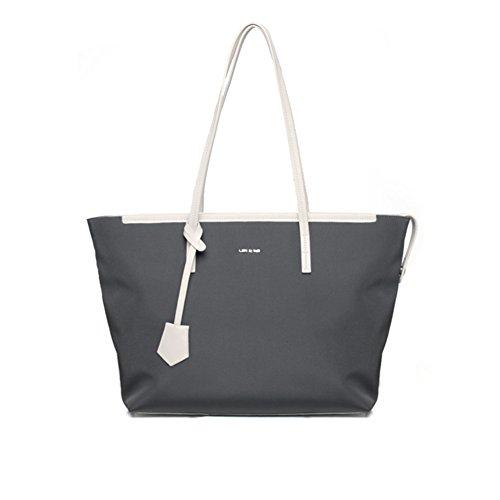 Borsetta della signora/semplice borsa canvas/nylon oxford tessuto monospalla borsa-E E