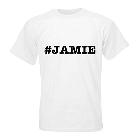 nicknames JAMIE nickname Hashtag T-shirt