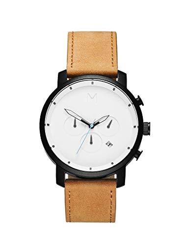 MVMT D-MC01-WBTL Chrono Chronograph Uhr Herrenuhr 5 bar Analog Datum Braun