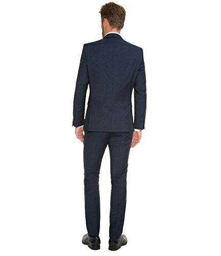 Michaelax-Fashion-Trade -  Gilet  - Basic - Senza maniche - Uomo blu navy