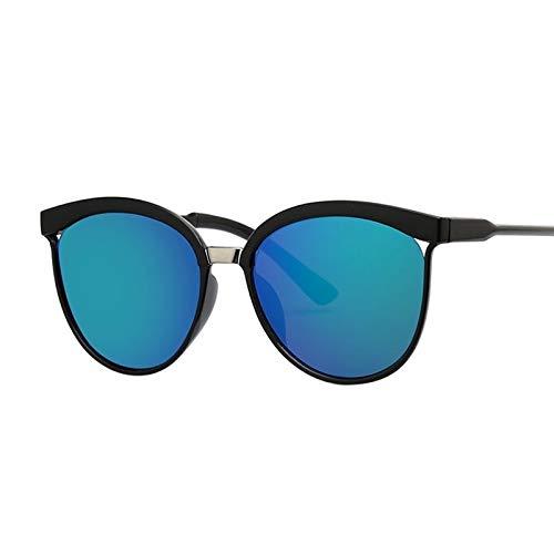 WWVAVA Sonnenbrillen BRAND DESIGN Katzenaugen-Sonnenbrille der Frauen polarisierte Mode Sonnenbrillen für Frauen Strass Tempel Brille UV400, c02