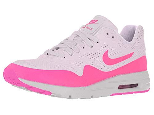 Nike Air Max 1 Ultra Moire Damen Laufschuhe, Weiß/Bleached Lila/Pink Blast, 37.5 - Moire Nike Ultra