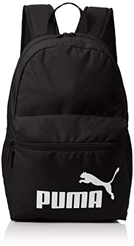 Puma Phase Backpack Rucksack, Black, OSFA
