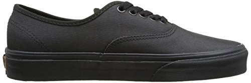 Vans U Authentic, Baskets mode mixte adulte Noir (Black/Bran)
