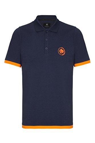 Barror London -  Polo  - Classico  - Maniche corte  - Uomo Navy / Orange