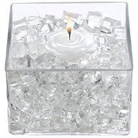 Centerpiece Wedding Tower Vase Filler - Makes 6 Gallons (Bulk 1lb Package) (Cubes, Clear) by LAW preisvergleich bei billige-tabletten.eu