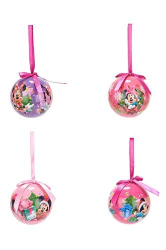 4 Weihnachtskugeln von Minnie
