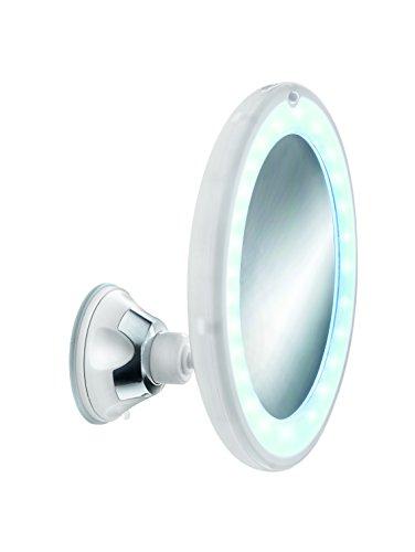 Kleine Wolke 5819114886 LED-Kosmetikspiegel Flexy Light, rund, schneeweiß