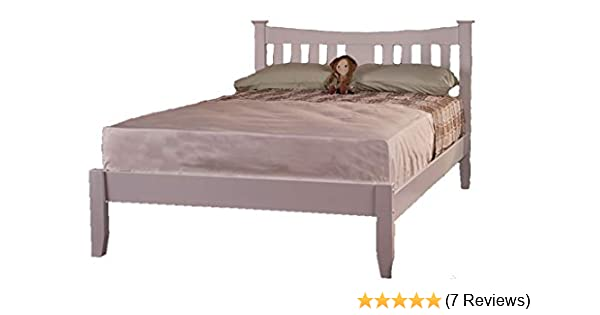 8fb4acc4ab7d Arquette Solid wood Bed Frame Sweet Dreams, OAK WHITE (WHITE, 4FT6 DOUBLE):  Amazon.co.uk: Kitchen & Home