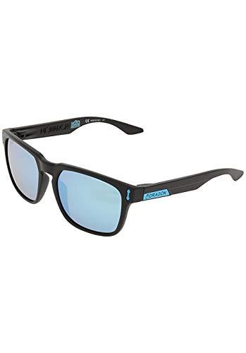 Drachen Matte Black H2O Sky Blue ionisiertes Monarch Sonnenbrille - H2o Männer Dragon Sonnenbrille Für