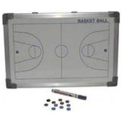 Softee - Pizarra magnética baloncesto, color blanco, 30x45 cm. Baloncesto