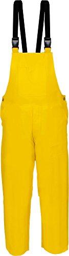 PU Winterbau Latzhose Wetterbekleidung Gelb Gr. S-XXXL Größe L
