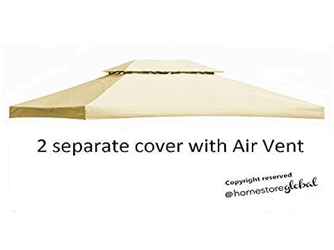 Homestore Globale Canopy Ersatz für 4M x 3M Pavillon mit