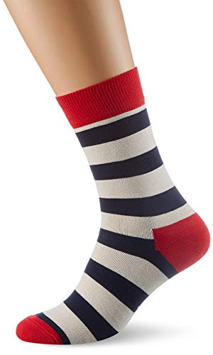 Happy Socks Unisex - Erwachsene Socken SA01, Gr. 41-46, Mehrfarbig (045)