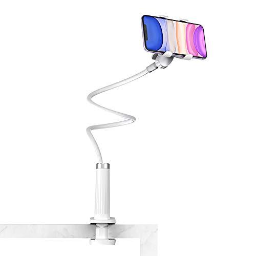 UGREEN Soporte para Móvil, Brazo Articulado Cama Flexible Cuello de Cisne Universal Largo para Smartphone...