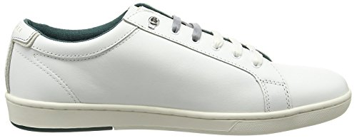 Ted Baker Theeyo 3, Sneakers basses homme Blanc (White)