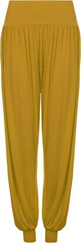 WearAll - Pantalon 'harem' bouffant - Pantalons - Femmes - Tailles 36 à 42 Moutarde