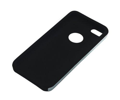 Xcessor Force Field Metal Schutzhülle Für Apple iPhone SE / 5S / 5. Metall und Silikon. Farbe Silber Graublau