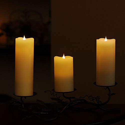 f Kerze licht LED Kerze flammenlose Tee licht gefälschte Kerze Geburtstag Weihnachten romantische vorschlag kreative Kerze licht ()