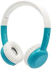 BAMiNi Kopfhörer Kinder, Kopfhörer für Kinder mit Laustärkebegrenzung, Abnehmbarem Kabel Leicht-Kopfhörer für Jungen und Mädchen (Blau)