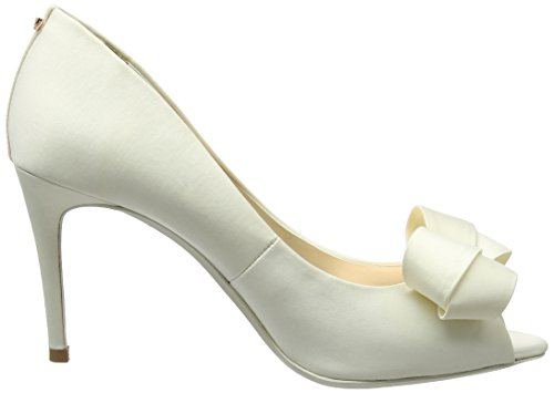 Ted Baker Damen Vylett Peeptoe Pumps Weiß (Ivory)