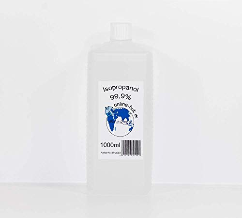 Isopropanol / Isopropylalkohol Klar 99,9% 1000 ml