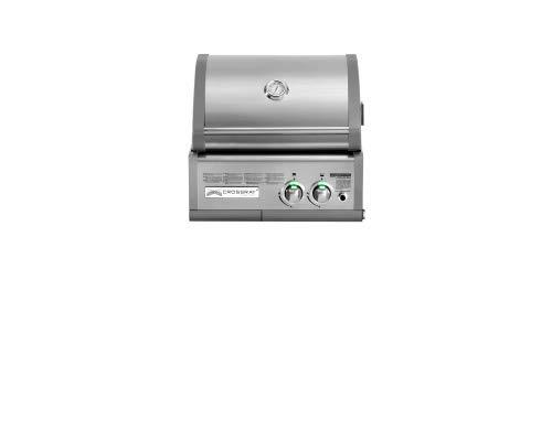 Crossray Heatstrip 50 MB Gasgrill Einbau Grill 2 Brenner Gas Garten Gartenkamin Kamin