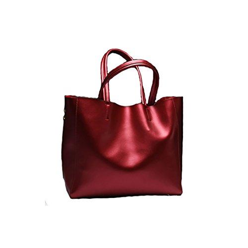 Plover's Bag Damen Handtasche Schultertasche Handgepäc Tragetasche wein