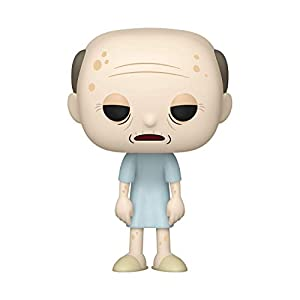 Funko- Pop Animation: Rick & Morty-Hospice Morty Rick and Collectible Toy, Multicolor (45436)
