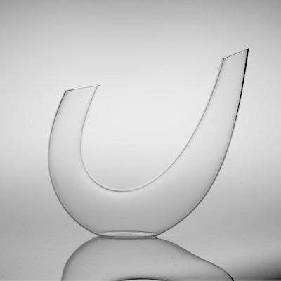 Gabriel Glas Decanter 'Alpha' - Design Weindekanter aus hochwertigem Glas