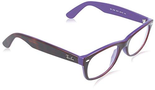Ray-Ban Gestell 5184 (52 mm) braun/violett